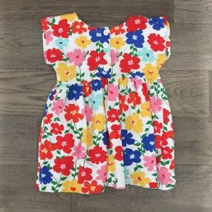 Hanna Andersson Floral dress, size 90 or 3